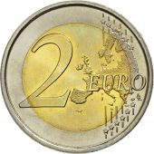 Spain, 2 Euro, 10 Jahre Euro, 2009, MS(63), Bi-Metallic