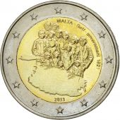 Malta, 2 Euro, Self-Government 1921, 2013, MS(63), Bi-Metallic