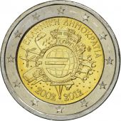 Greece, 2 Euro, €uro 2002-2012, 2012, MS(63), Bi-Metallic