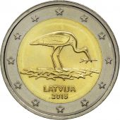Latvia, 2 Euro, 2015, SPL, Bi-Metallic
