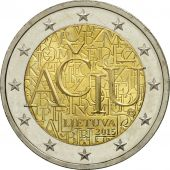 Lithuania, 2 Euro, ACIU, 2015, MS(63), Bi-Metallic