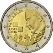 Estonia, 2 Euro, Paul Keres, 2016, SPL, Bi-Metallic