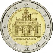 Greece, 2 Euro, 2016, MS(63), Bi-Metallic