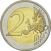 Greece, 2 Euro, Dmitri Mitropoulos, 2016, MS(63), Bi-Metallic