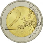 Lithuania, 2 Euro, Flag, 2015, MS(63), Bi-Metallic