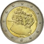 Malte, 2 Euro, Self-Government 1921, 2014, SPL, Bi-Metallic