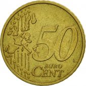 Austria, 50 Euro Cent, 2002, MS(63), Brass, KM:3087