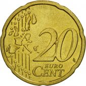 Austria, 20 Euro Cent, 2007, MS(63), Brass, KM:3086