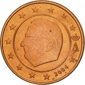 Belgium, 2 Euro Cent, 2004, MS(63), Copper Plated Steel, KM:225