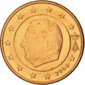 Belgium, Euro Cent, 2004, MS(63), Copper Plated Steel, KM:224
