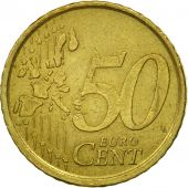 Spain, 50 Euro Cent, 2000, MS(63), Brass, KM:1045