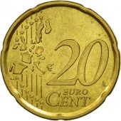 Spain, 20 Euro Cent, 2006, MS(63), Brass, KM:1044
