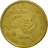 Spain, 10 Euro Cent, 1999, MS(63), Brass, KM:1043