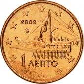Grèce, Euro Cent, 2002, SPL, Copper Plated Steel, KM:181