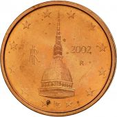 Italie, 2 Euro Cent, 2002, SPL, Copper Plated Steel, KM:211