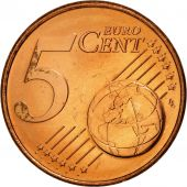 Luxembourg, 5 Euro Cent, 2002, SPL, Copper Plated Steel, KM:77