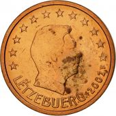 Luxembourg, 2 Euro Cent, 2002, SPL, Copper Plated Steel, KM:76