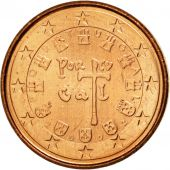 Portugal, Euro Cent, 2002, MS(63), Copper Plated Steel, KM:740