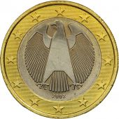 GERMANY - FEDERAL REPUBLIC, Euro, 2002, MS(63), Bi-Metallic, KM:213