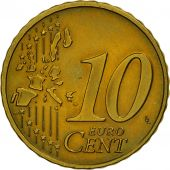 GERMANY - FEDERAL REPUBLIC, 10 Euro Cent, 2002, MS(63), Brass, KM:210