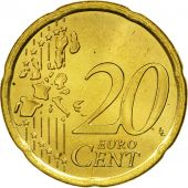 Spain, 20 Euro Cent, 2002, MS(63), Brass, KM:1044