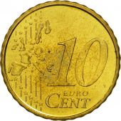 Spain, 10 Euro Cent, 2002, MS(63), Brass, KM:1043