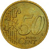 France, 50 Euro Cent, 2001, SPL, Laiton, KM:1287