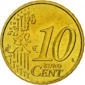 France, 10 Euro Cent, 2001, SPL, Laiton, KM:1285