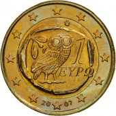 Greece, Euro, 2007, MS(63), Bi-Metallic, KM:214
