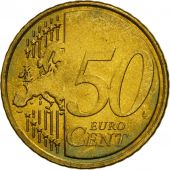 Greece, 50 Euro Cent, 2007, MS(63), Brass, KM:213