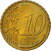 Greece, 10 Euro Cent, 2007, MS(63), Brass, KM:211