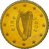 IRELAND REPUBLIC, 50 Euro Cent, 2003, SPL, Laiton, KM:37