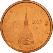 Italie, 2 Euro Cent, 2003, SPL, Copper Plated Steel, KM:211