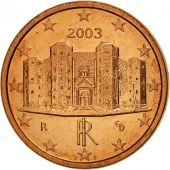 Italie, Euro Cent, 2003, SPL, Copper Plated Steel, KM:210