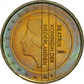 Netherlands, 2 Euro, 2003, MS(63), Bi-Metallic, KM:241