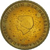 Netherlands, 50 Euro Cent, 2003, MS(63), Brass, KM:239