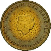 Netherlands, 10 Euro Cent, 2003, MS(63), Brass, KM:237