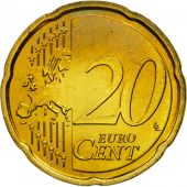 Portugal, 20 Euro Cent, 2008, MS(63), Brass, KM:764