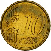 Portugal, 10 Euro Cent, 2008, MS(63), Brass, KM:763