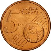 Portugal, 5 Euro Cent, 2008, MS(63), Copper Plated Steel, KM:742
