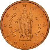 San Marino, 2 Euro Cent, 2006, SPL, Copper Plated Steel, KM:441