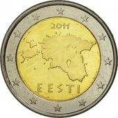 Estonia, 2 Euro, 2011, SPL, Bi-Metallic