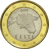 Estonia, 1 Euro, 2011, SPL, Bi-Metallic