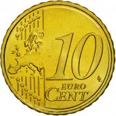 Estonia, 10 Euro Cent, 2011, MS(63), Brass