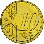 Malta, 10 Euro Cent, 2008, MS(63), Brass, KM:128