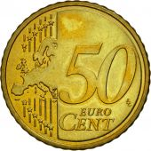 Slovenia, 50 Euro Cent, 2007, MS(63), Brass, KM:73