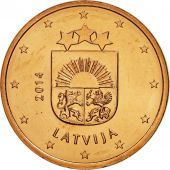 Latvia, 5 Euro Cent, 2014, SPL, Copper Plated Steel, KM:152