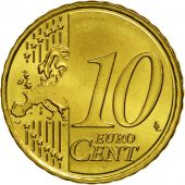 Lithuania, 10 Euro Cent, 2015, MS(63), Brass