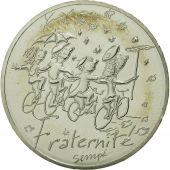 France, 10 Euro, Fraternité Automne Sempé, 2014, SPL, Argent
