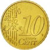 France, 10 Euro Cent, 1999, FDC, Laiton, KM:1285